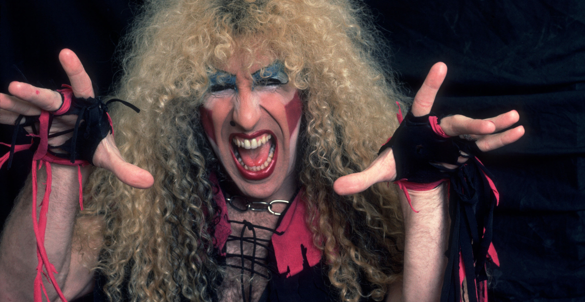 Twisted Sister on 12/21/84 in Chicago, Il.  (Photo by Paul Natkin/Getty Images)