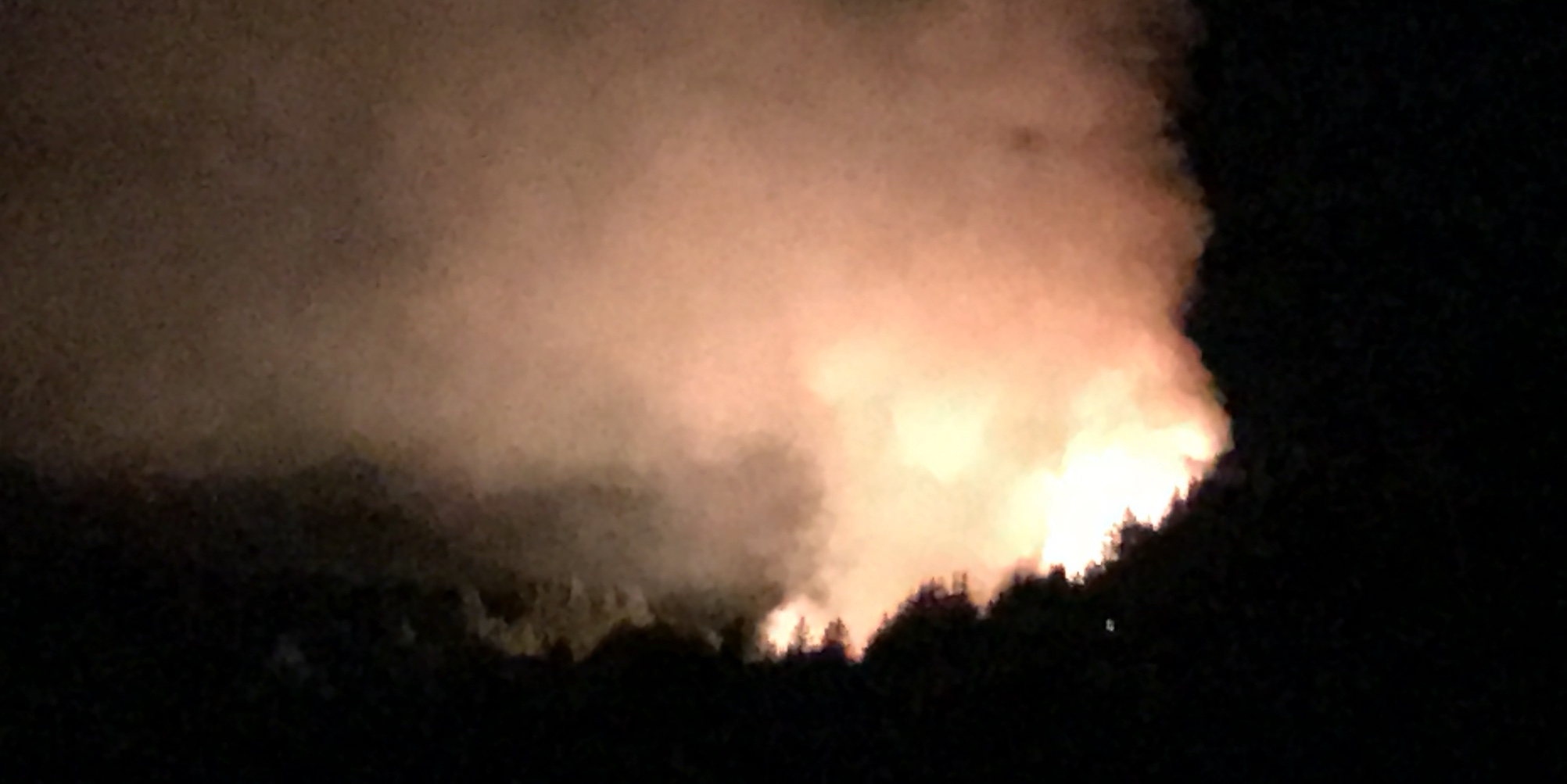 Fire Santa Cruz Mountains